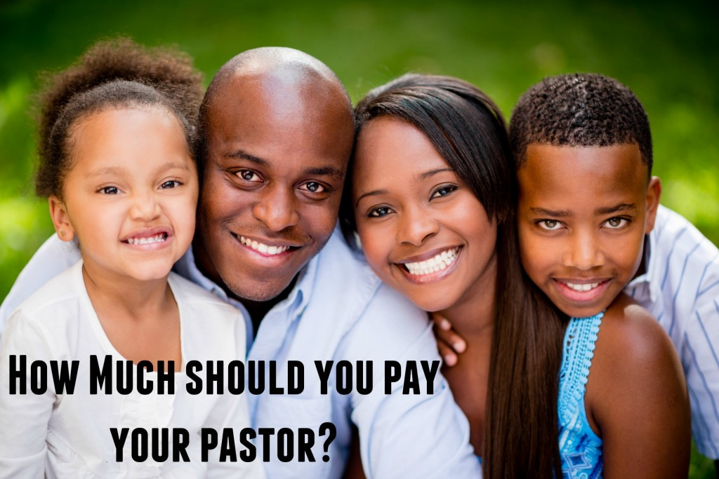 How Much should you pay your pastor