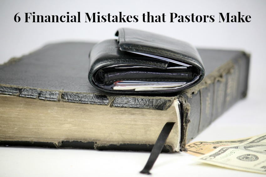 Financial mistakes that pastors make
