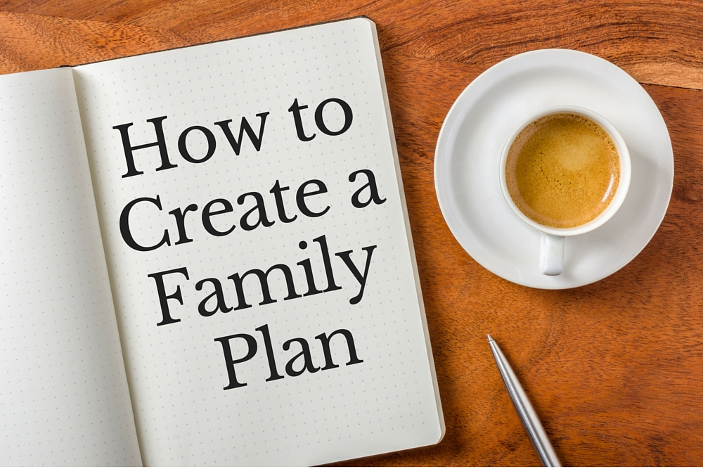 How to Create a Family Plan